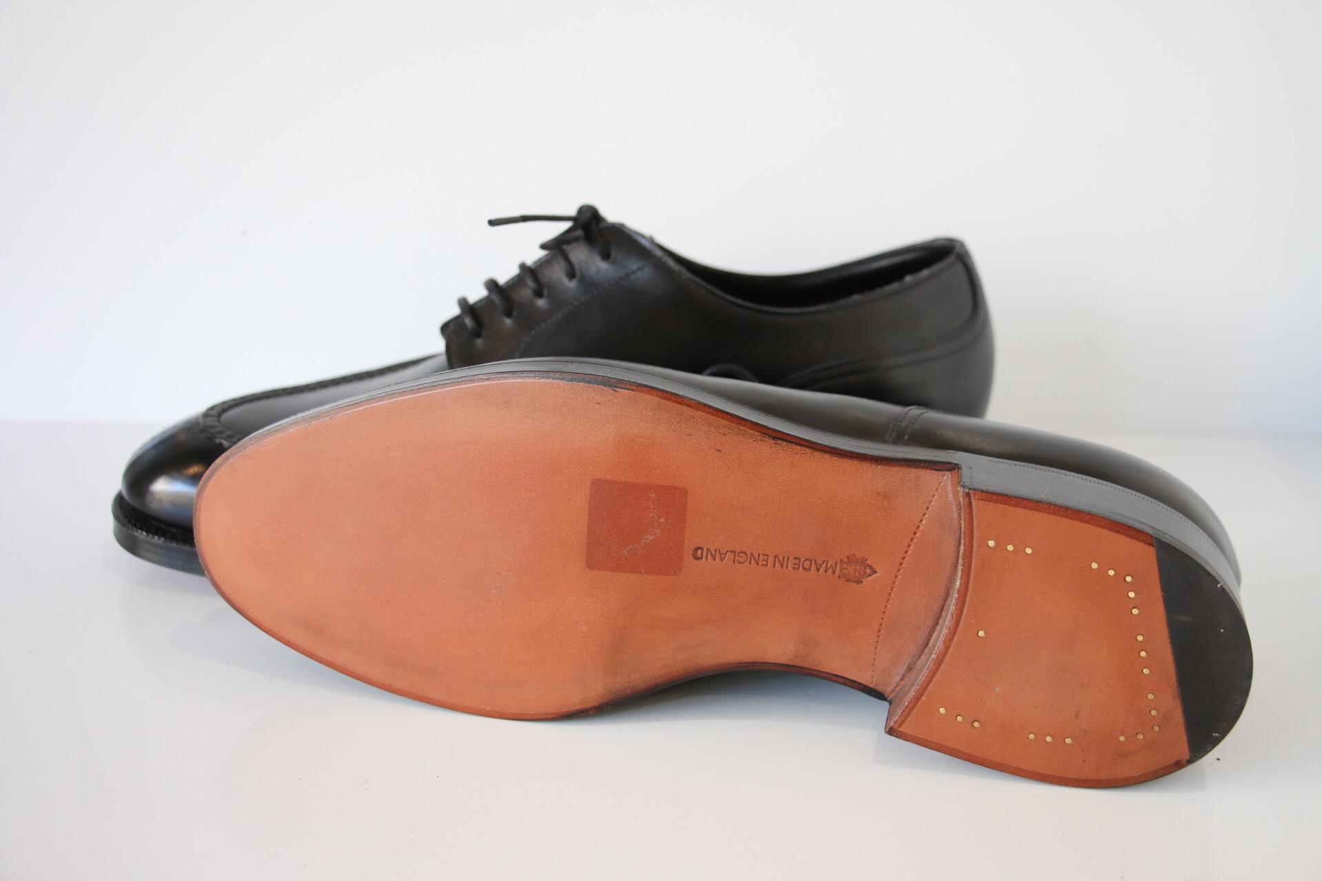 靴 ヴィンテージスチール